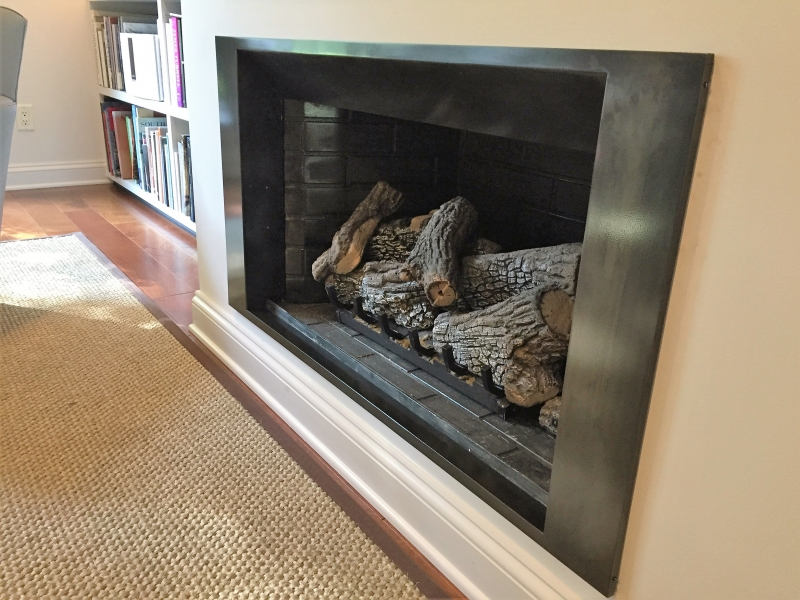 Custom Fire Place enclosure
