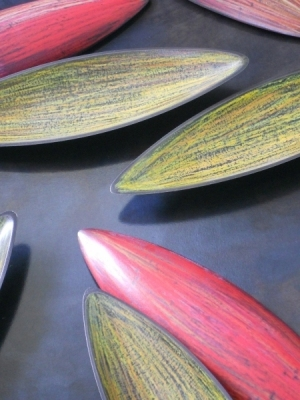 Pods, Red & Yellow - Detail