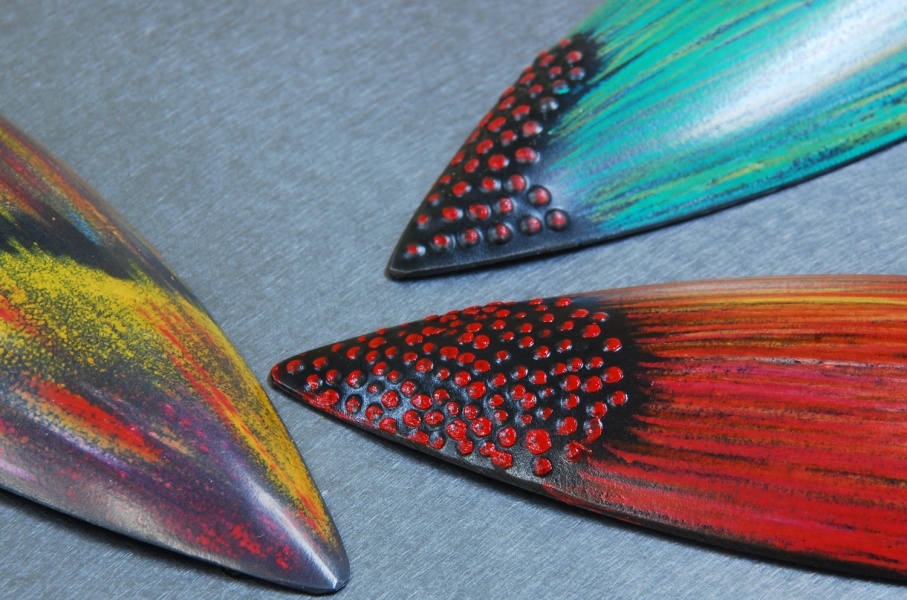 colored pods